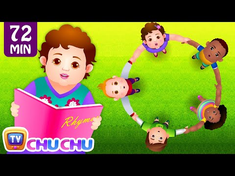 Ringa Ringa Roses Ring Around the Rosie  Many More Nursery Rhymes  Songs for Children  ChuChuTV