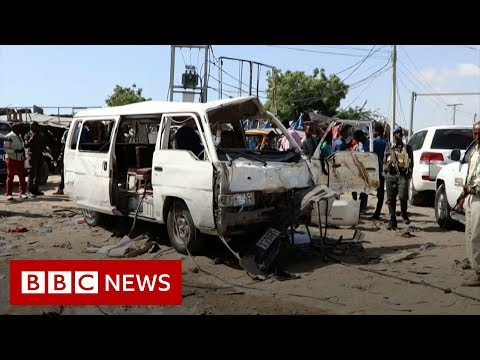 Somalia: Dozens killed in Mogadishu attack - BBC News