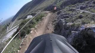 Lousfaki downhill trail final run (without chain)