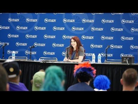 Otakon 2016 - Alexis Tipton Q&A Panel