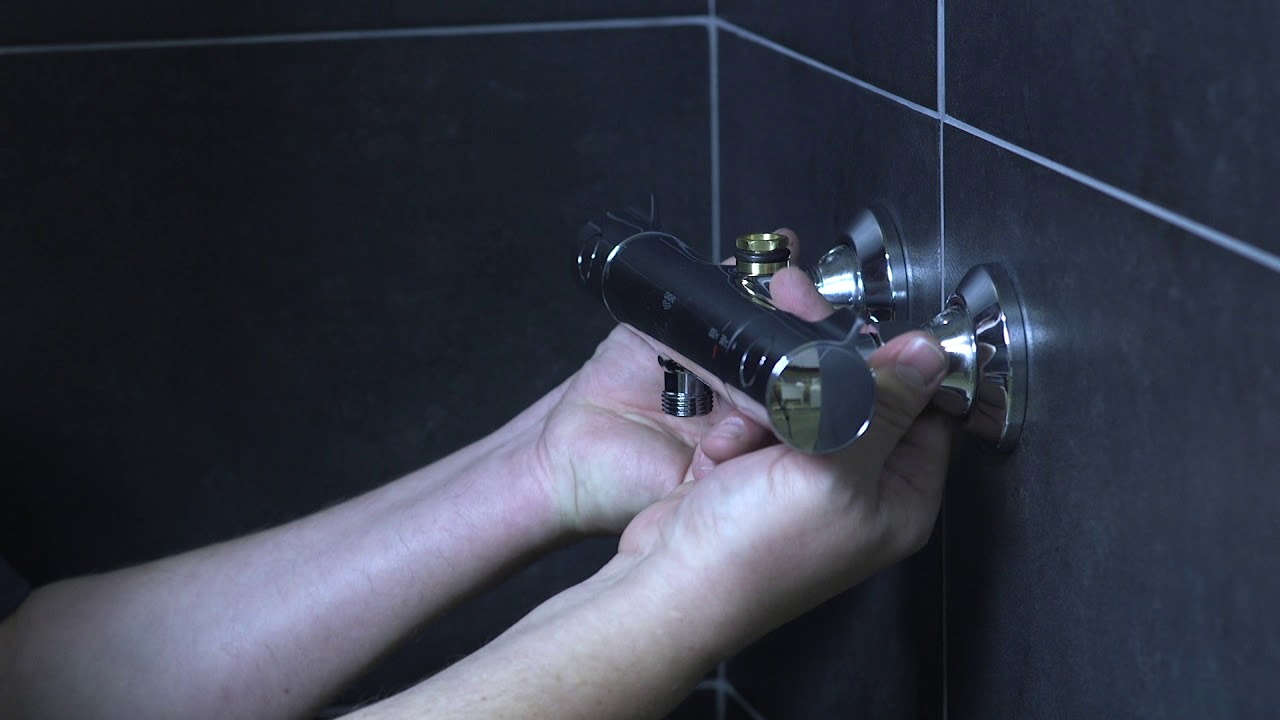 grohe euphoria exposed shower system installation tips tricks installation video