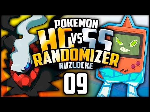 1 in 493 CHANCE - Pokemon Heart Gold & Soul Silver Randomizer Nuzlocke Versus w/ Patterrz - Part 09