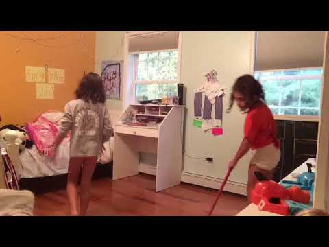 Me And My Sister Cleaning our room