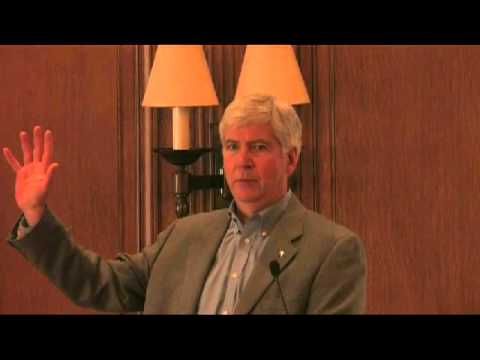 Governor Rick Snyder Speaks on Immigration Policy at U of D Mercy Law Symposium