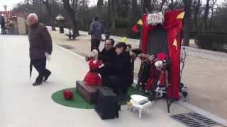 Flamenco en el Cabaret Ovejuno. Parque del Retiro, Madrid