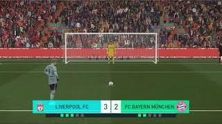 Bayern Munchen Vs Liverpool Fc Penalty Kicks PES 2018