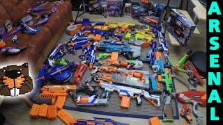 Nerf Arsenal 3.0 - Stand April 2015