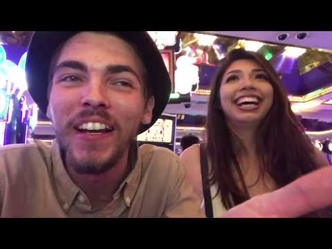 FIRST TIME GAMBLING AND WINNING! | Nevada Family Trip Vlog