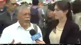 Santos marcha por la paz
