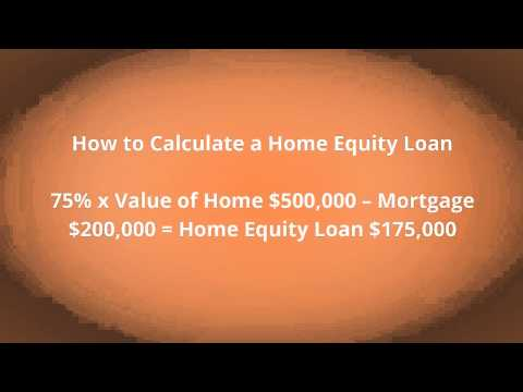 How to Calculate Home Equity Loan BC