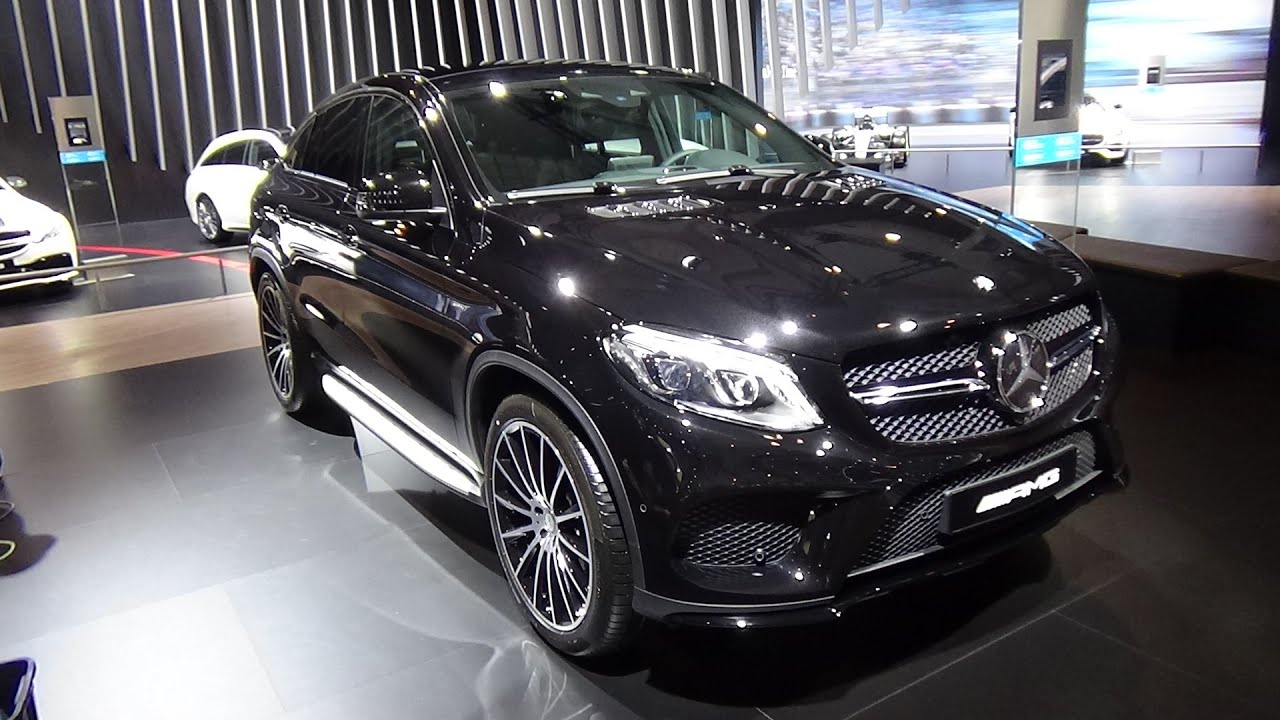 2016 - Mercedes-Benz GLE 450 AMG 4Matic Coupe - Exterior ...