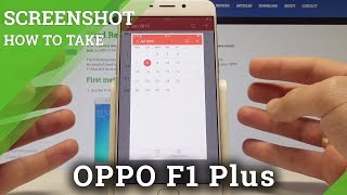 How to Take Screenshot on OPPO F1 Plus - OPPO Capture Screen Tutorial