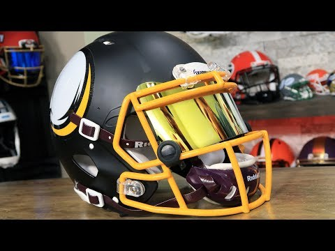 Riddell AMP Vikings Authentic Gets Upgrades
