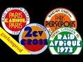 2 CV Raids Citroën  Paris Kaboul 1970 - Paris Persépolis 1971 - 2 Cv cross 1972 - Raid Afrique 1973