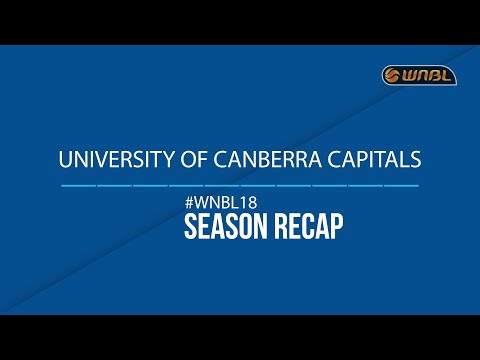 2017/18 Season Review: University of Canberra Capitals