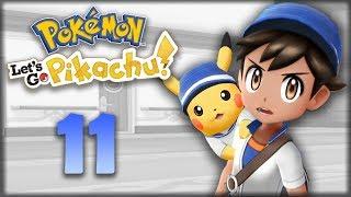 ОГРОМНАЯ ЯХТА - Pokemon: Let's Go, Pikachu #11 - Прохождение (ПОКЕМОНЫ НА НИНТЕНДО СВИЧ)