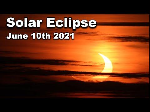 Solar Eclipse June 10th 2021