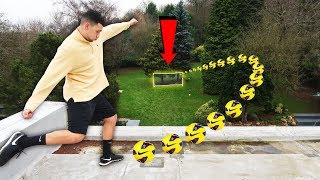 EPIC ROOFTOP FOOTBALL CHALLENGE!! (Loser = Forfeit)