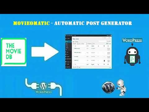 Movieomatic Automatic Post Generator Plugin for WordPress ...