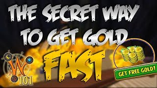 The Secret Way to Get Gold FAST on Wizard101! + CROWNS GIVEAWAY