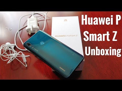 Huawei P Smart Z Emerald Green Unboxing & Hands On Review