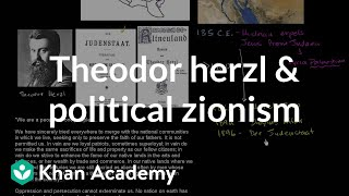 Theodor Herzl and the birth of political Zionism | The 20th century | World history | Khan Academy