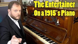 Download lagu The Entertainer on a 1915´s Piano