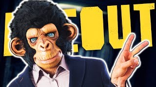 I'M A CRAZY MONKEY MAN! | Ape Out