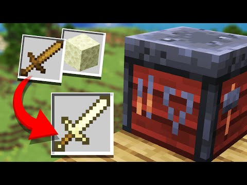 10 Ways to make the Smithing Table USEFUL in Minecraft