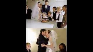 Фото со свадьбы Бреда Питта и Анджелины Джоли! Новые!