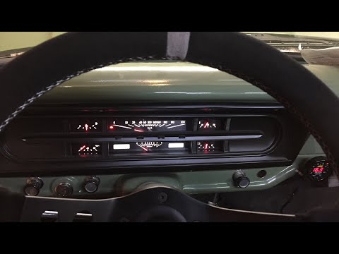 How To Install A Dakota Digital Dash In A Ford F100