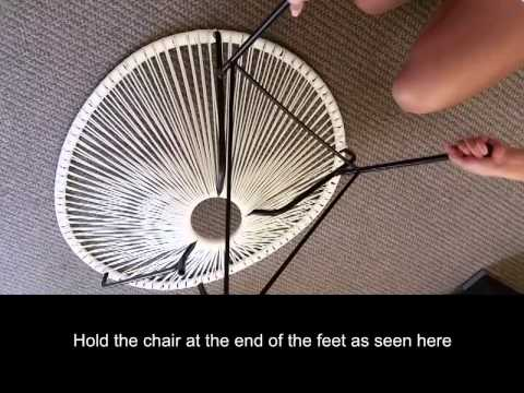 Acapulco Chair Assembly Video By Harmonia Living