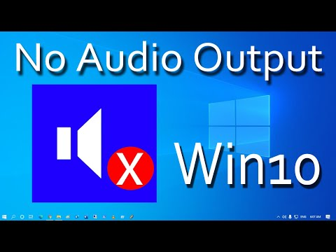 How To Fix No Audio Output Device is Installed in Windows 10