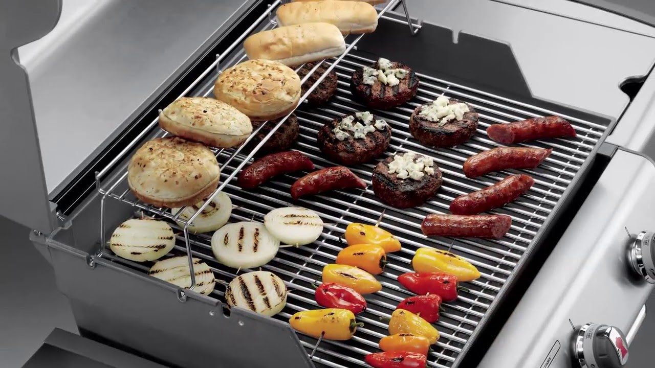 weber genesis s 330 series gas grill goemans product spotlight youtube. Black Bedroom Furniture Sets. Home Design Ideas