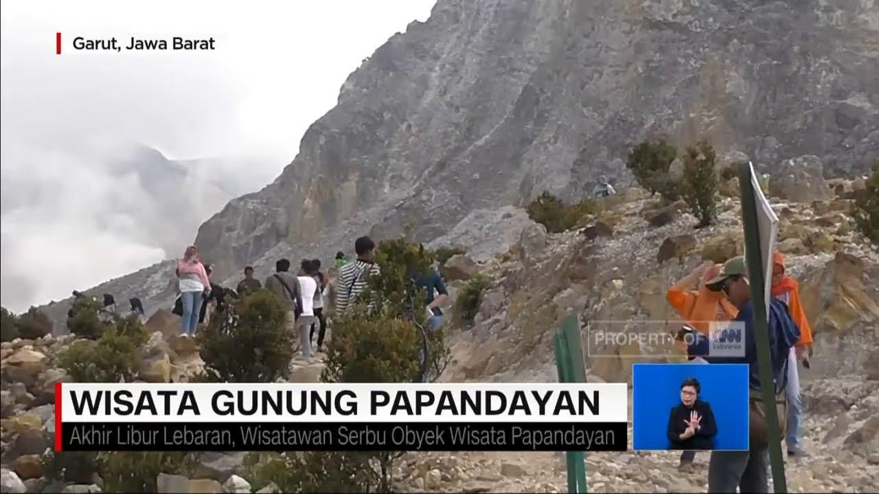 Keindahan Wisata Gunung Papandayan