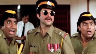 Anil Kapoor, Johnny Lever, Mr. Azaad - Comedy Scene 1/13
