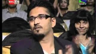 Sufi singer kavita seth receiving the biggest awards of the film industry.