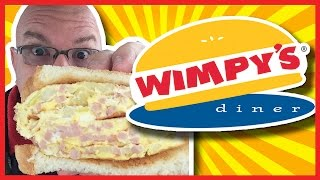 Wimpy's Diner Super Western Sandwich Review