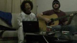 KiD CuDi and Eagle Eye Cherry Mashup - The Pursuit of Happiness/Save Tonight (acoustic cover)