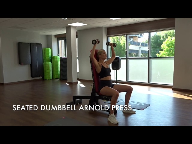 Seated Dumbbell Arnold Press