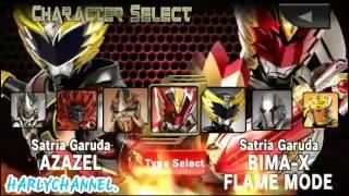 Bima X Game Indonesia All Character.