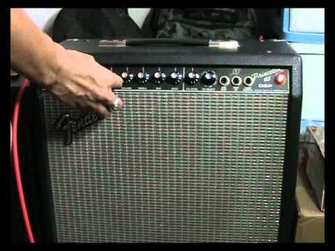 fender princeton 65 dsp guitar maya youtube. Black Bedroom Furniture Sets. Home Design Ideas