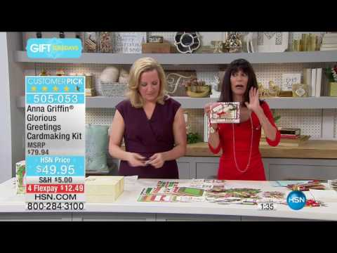 HSN | Anna Griffin Elegant Paper Crafting 11.22.2016 - 08 PM
