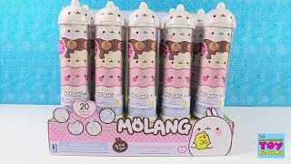 Baixar Molang Push N Peel Pops Series 1 Piu Piu Toy Review | PSToyReviews