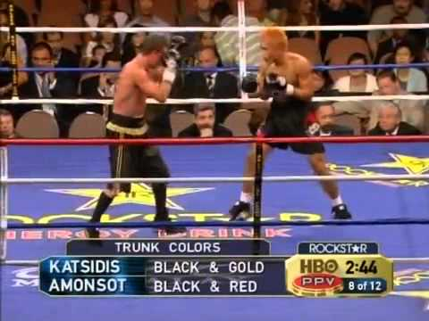 Michael Katsidis v Czar Amonsot 21 July 2007 Las Vegas, Nevada, USA Travel Video