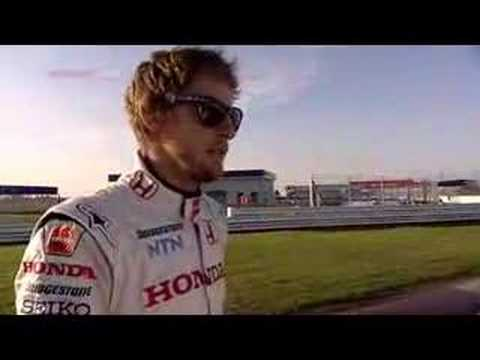 Honda F1 car - The Ultimate Test Drive - part 1