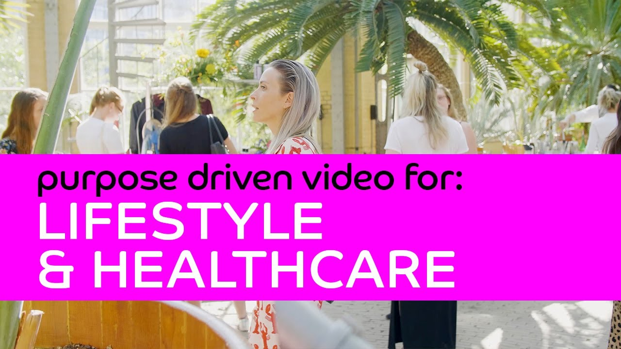 3MP online video for:  LIFESTYLE, HEALTHCARE & SPORTS