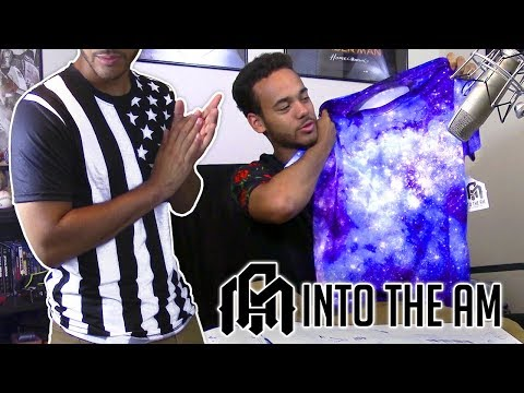 INTO THE AM Unboxing Review | Stardust, Digital Wolf, Neuron Stars, And American Street Tees!