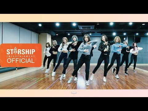 [Dance Practice] 우주소녀 (WJSN) – La La Love Moving Cam Ver.