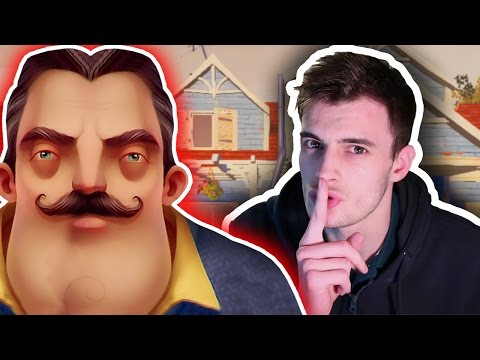 BREAKING INTO MY NEIGHBOUR'S HOUSE | Hello Neighbor (Full Game with Ending)